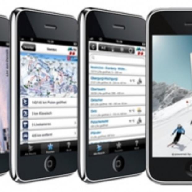 iSki Austria app, nooit meer verdwalen op de piste :-)