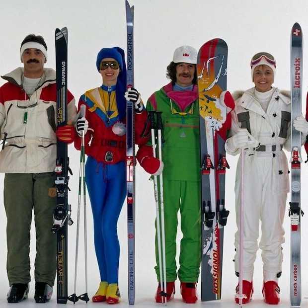 Zo cool was skikleding in de jaren '80!