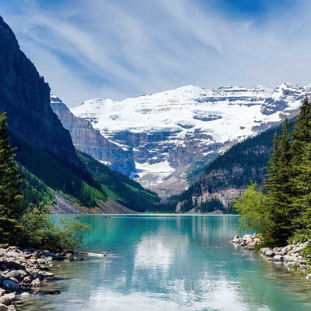 De magie van Lake Louise