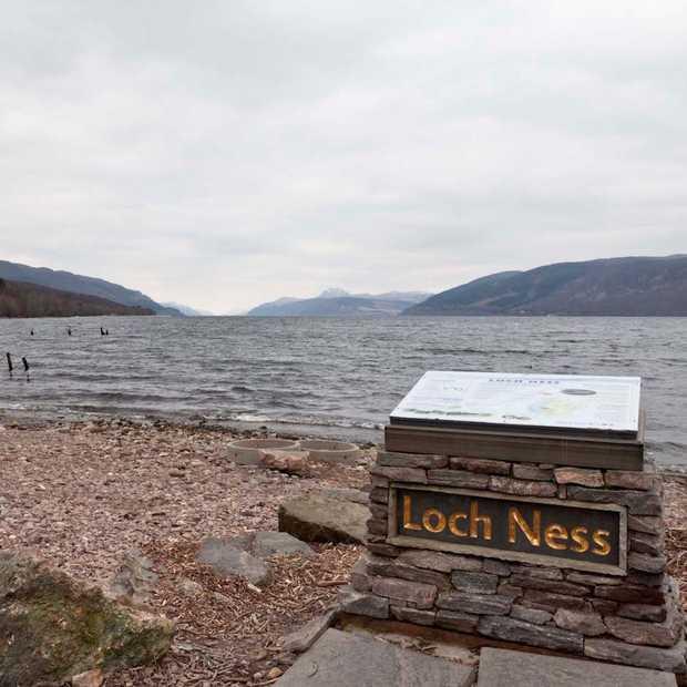 Op zoek naar Nessie in Loch Ness