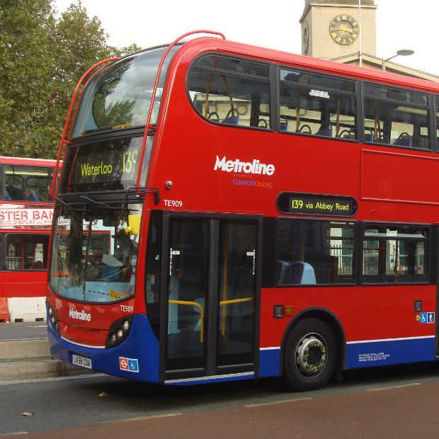 Betalen voor de bus in Londen met je smartphone