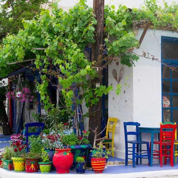 Mediterraan eten op z'n Grieks