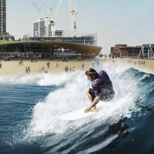 Melbourne krijgt drijvend surfpark