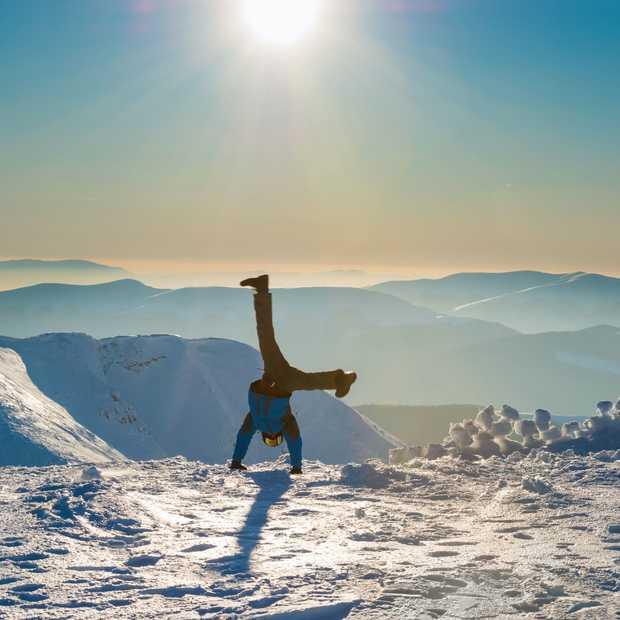 Morzine heeft de allereerste yogapiste van Frankrijk