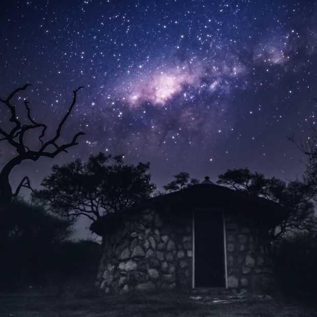 Een betoverende nacht in Namibië