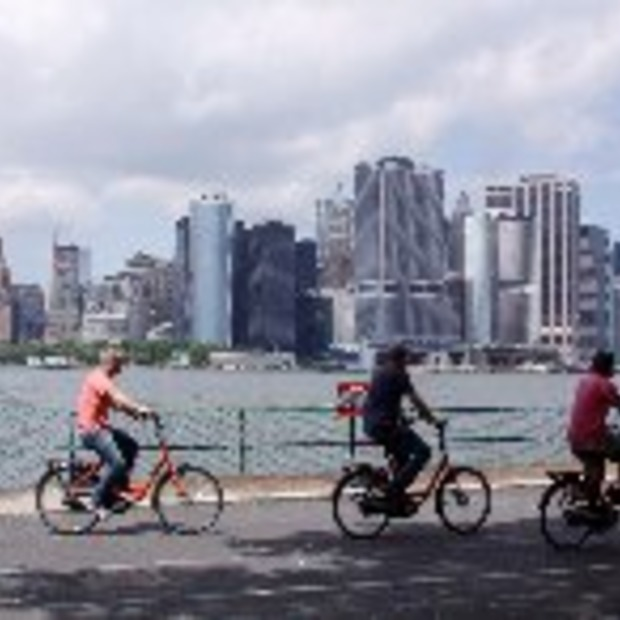 Citybike: fietsenplan in New York