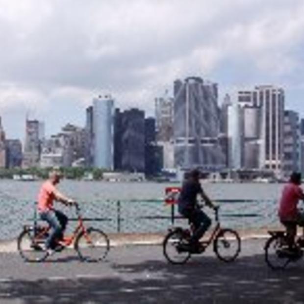 Citybike: fietsenplan in New York