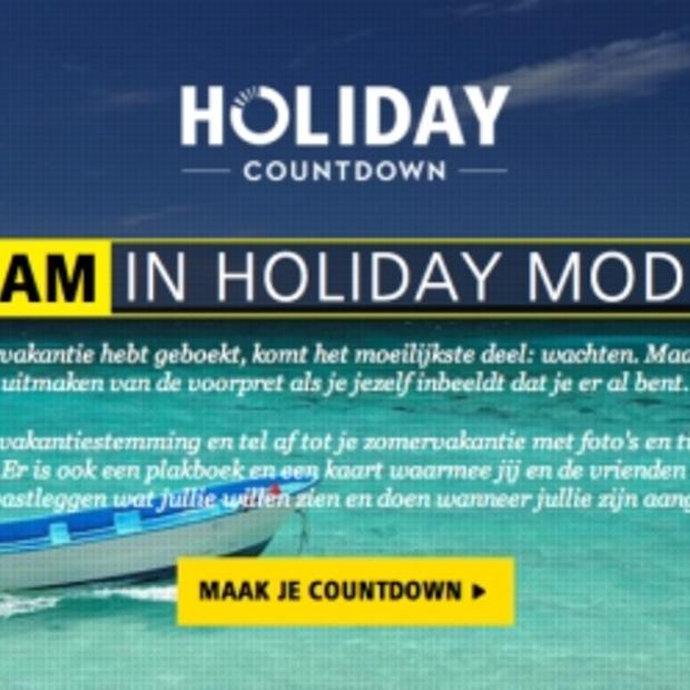 Facebook-app van Nikon maakt wachten op een vakantie leuk