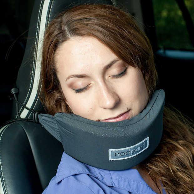 NodPod: handige gadget voor slaperige reizigers