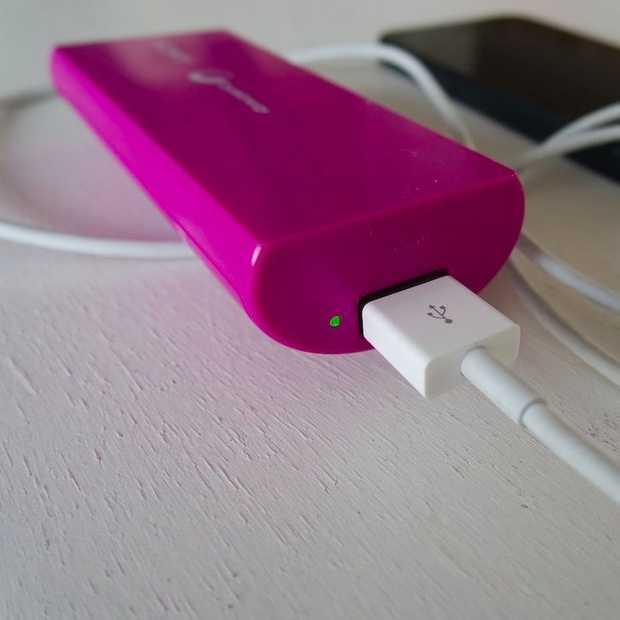 Nooit meer een lege smartphone met een oplaadbare batterij