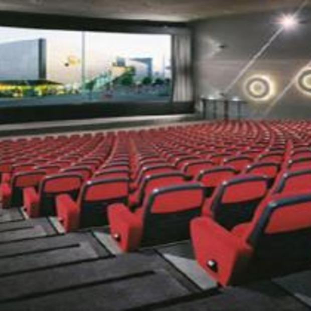 Het Nederlands elftal kijken in een Bioscoopzaal!