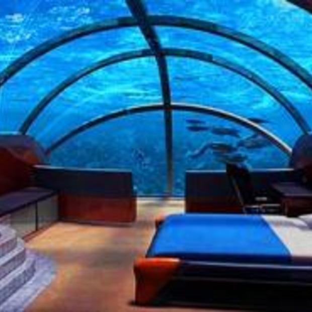 Een onderwaterresort.... fabel of waarheid?