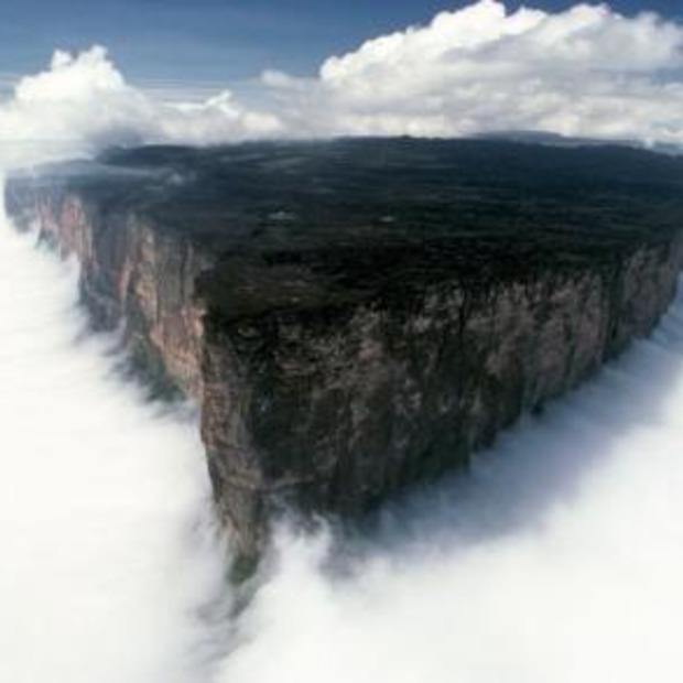 Mooie view op Mt. Roraima