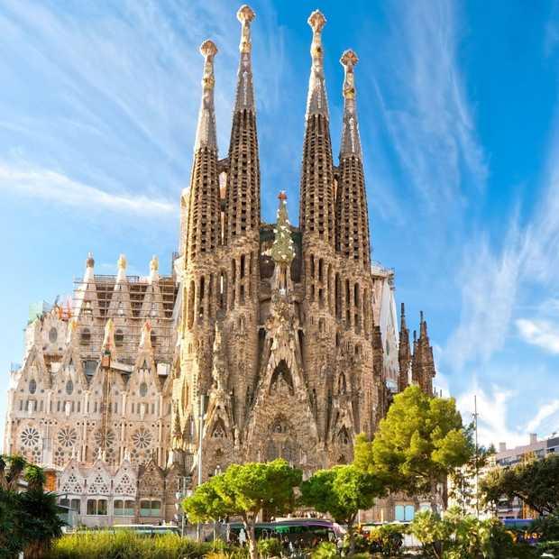 Als de Sagrada Familia klaar is, is dit het eindresultaat!