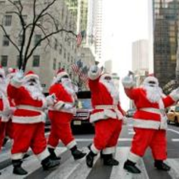 Santa Claus tour boven Manhattan