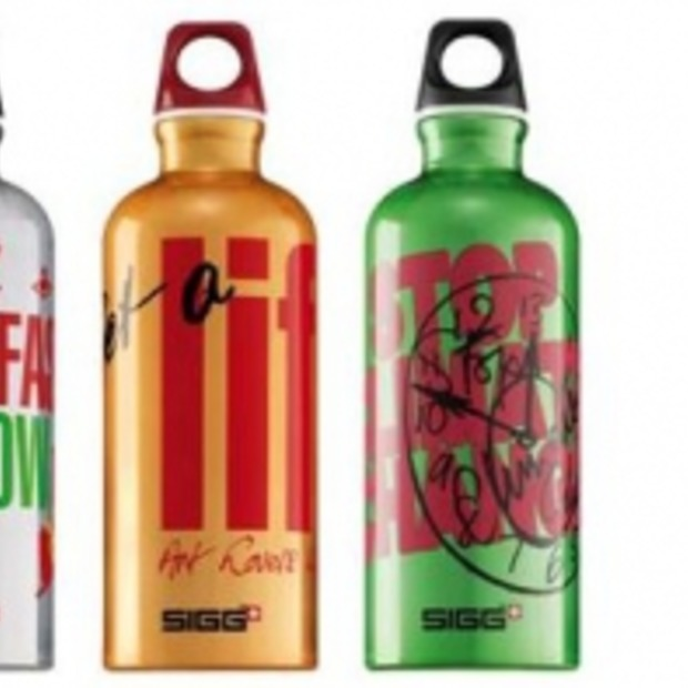 Unieke Vivienne Westwood Sigg drinkflessen