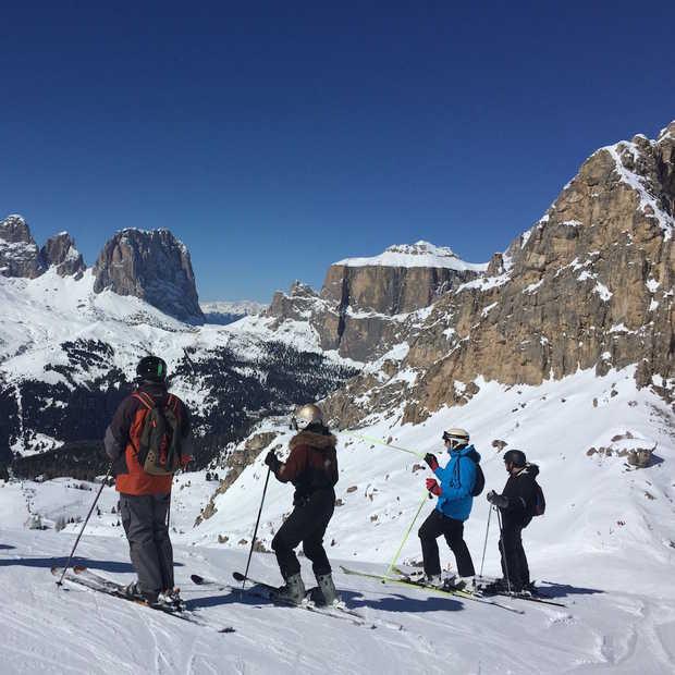 Geweldig skigebied: Val Gardena in Italië