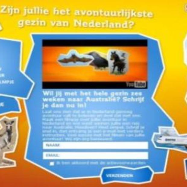 Verkiezing Stayokay 'Avontuurlijkste gezin van Nederland'