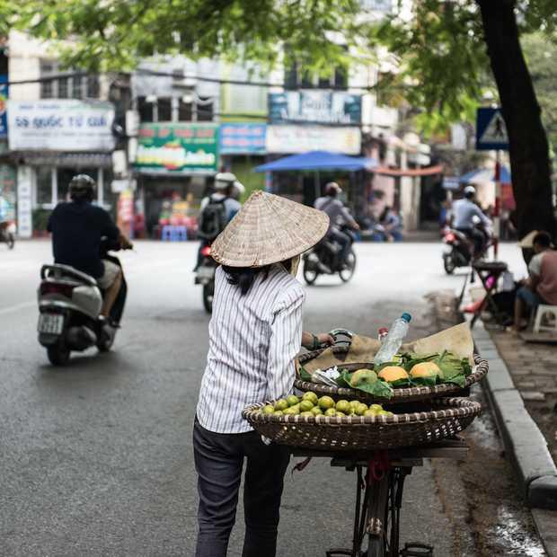 Beleef een dag op straat in Hanoi