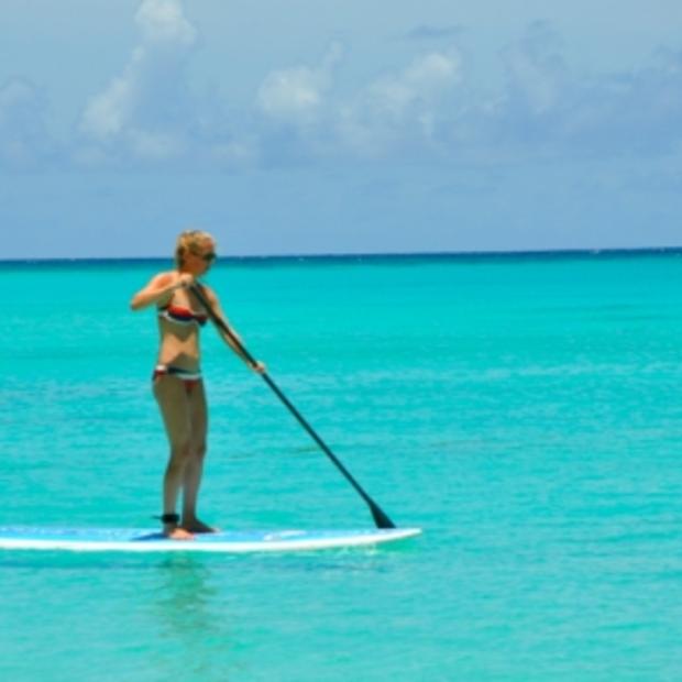 Suppen op Barbados: super leuke en ontspannen workout!
