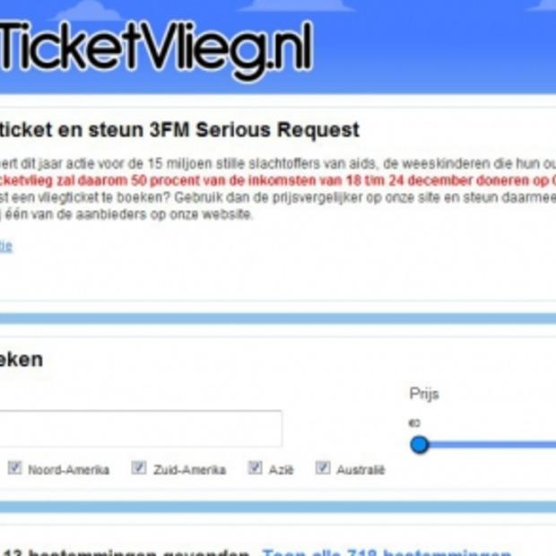 Ticketvlieg.nl: nieuwe vergelijkingssite voor vliegtickets