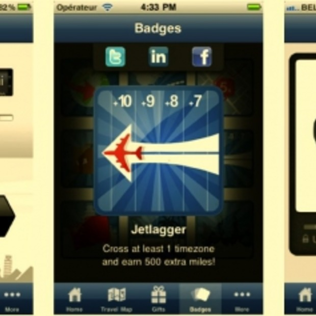 Travel Miles app van Samsonite