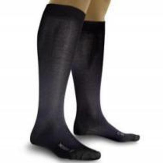 Geen pijnlijke voeten meer met 'vliegsokken'