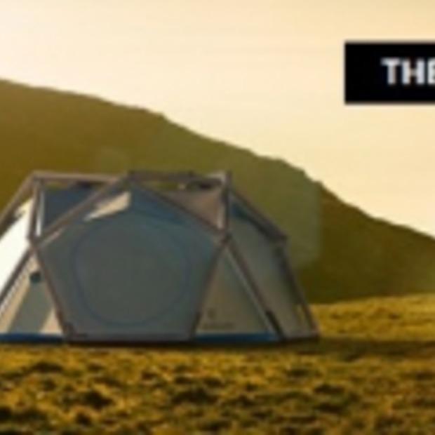 The Cave: ideale tent voor festivalgangers!