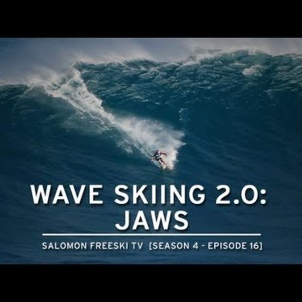 Video: Skieen op water!