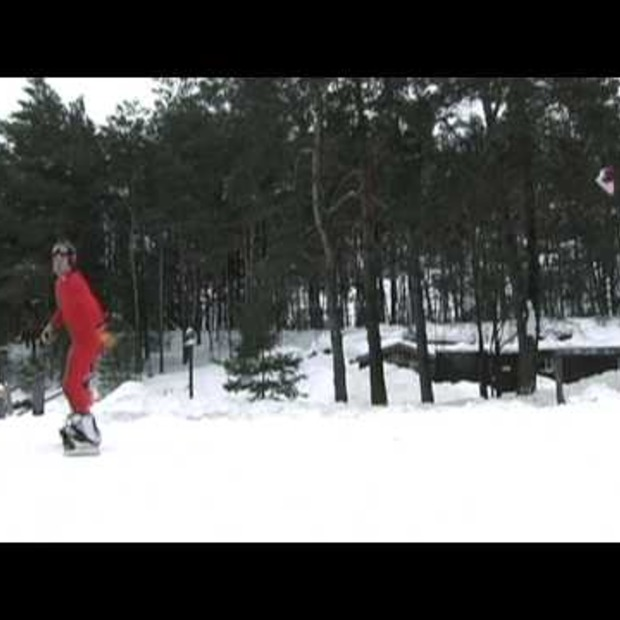 Video: Cross Country Snowboarding