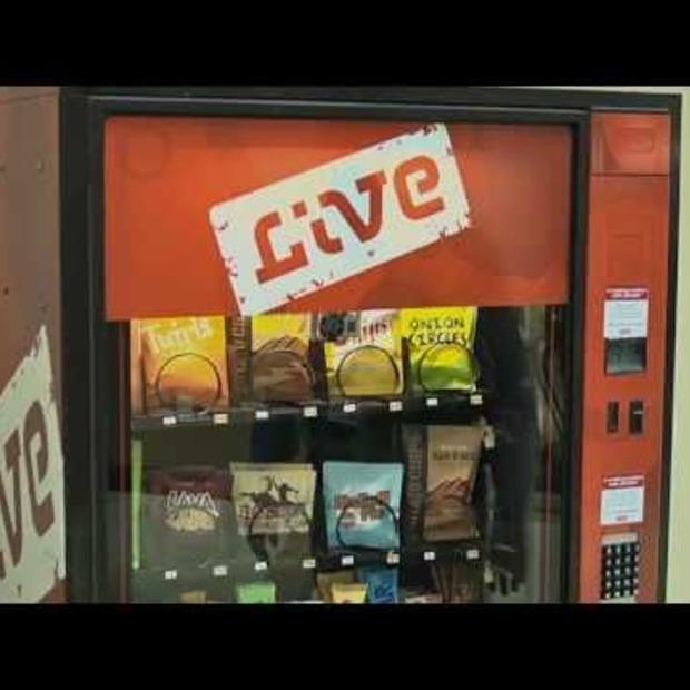 Video: Levende snoepautomaat