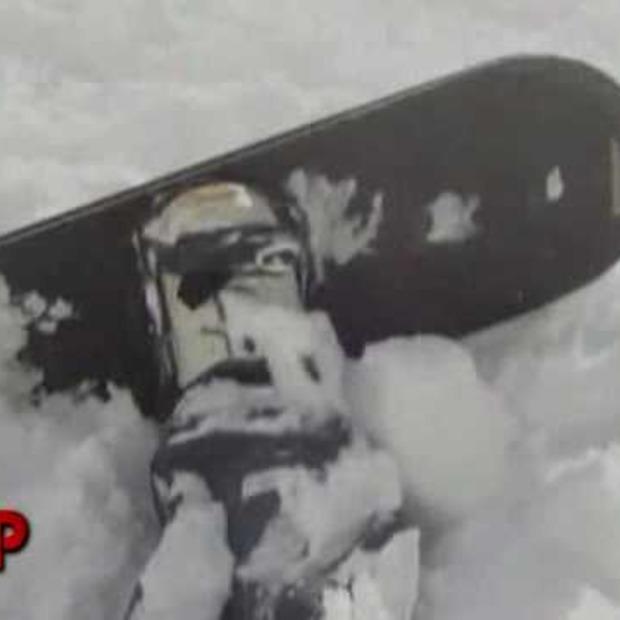 Video: live beelden uit een lawine....