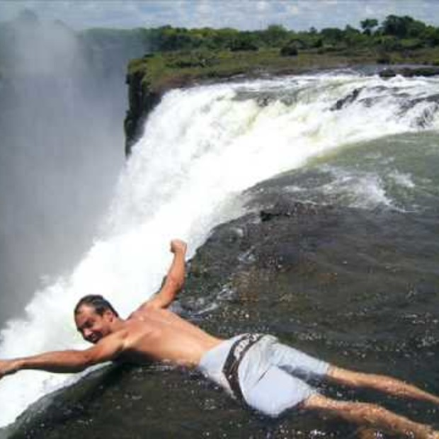 Video: The Devils Pool Victoria Falls
