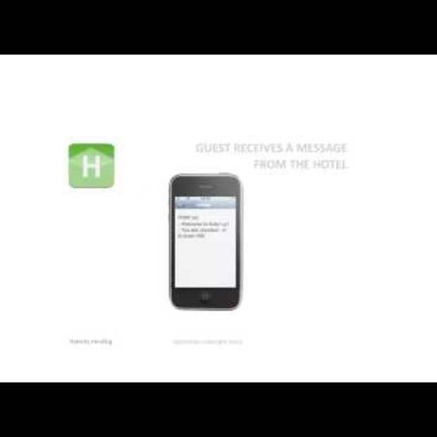 Video: De toekomst van de hotelsleutel, je mobiele telefoon?