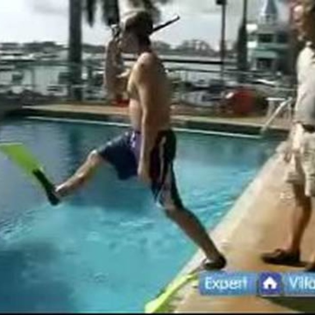 Video: Snorkeltips: how to enter the water