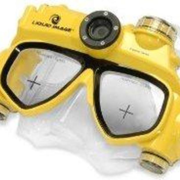 Duikbril met ingebouwde camera