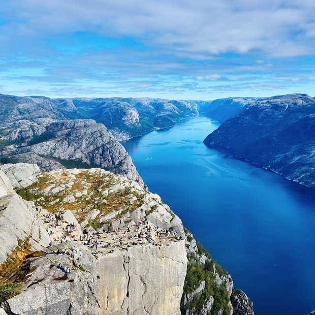 Noorwegen wordt goedkoper als vakantiebestemming
