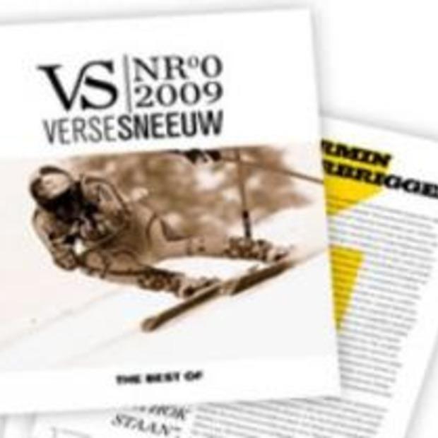 Eerste editie Verse Sneeuw 2009