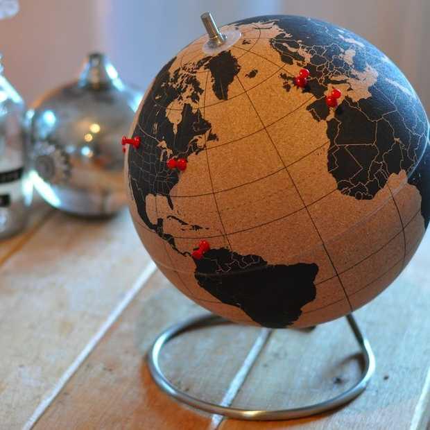 De leukste gadget voor travelers: een wereldbol