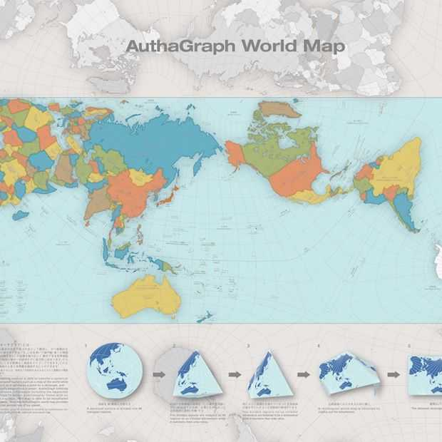 Dit is de meest accurate wereldkaart