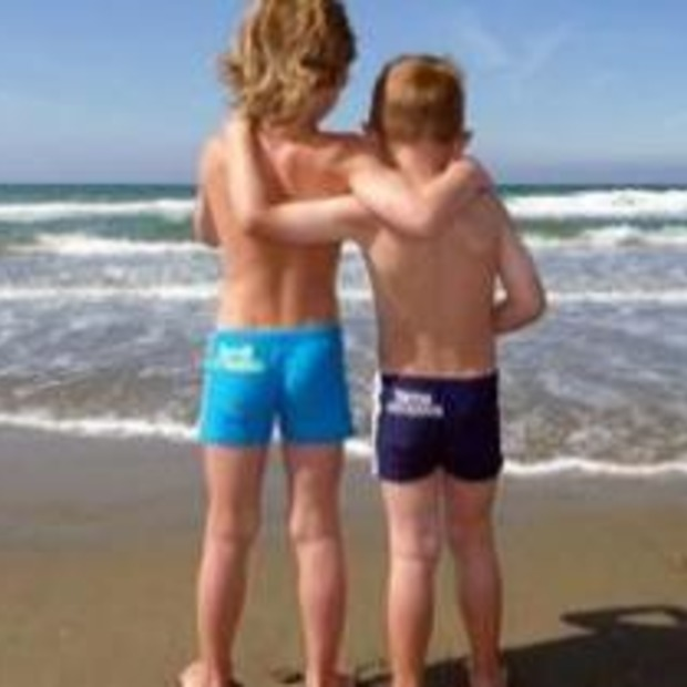 Kinder zwembroek met naam