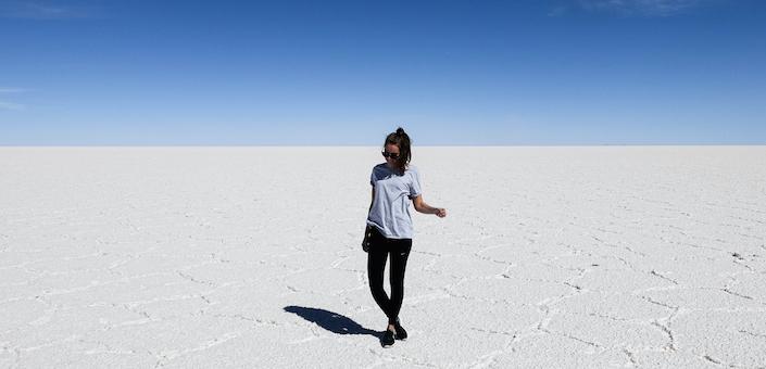 Salar de Uyuni in Boliva: een buitenaardse plek op aarde