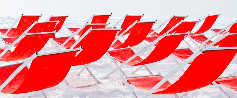 Door flinke sneeuwval zijn wintersportgebieden in Frankrijk eerder open
