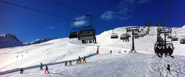 Wintersport in de Ötztal Arena