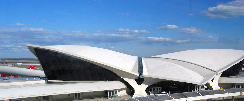 Hardloopwedstrijd op startbanen van JFK Airport