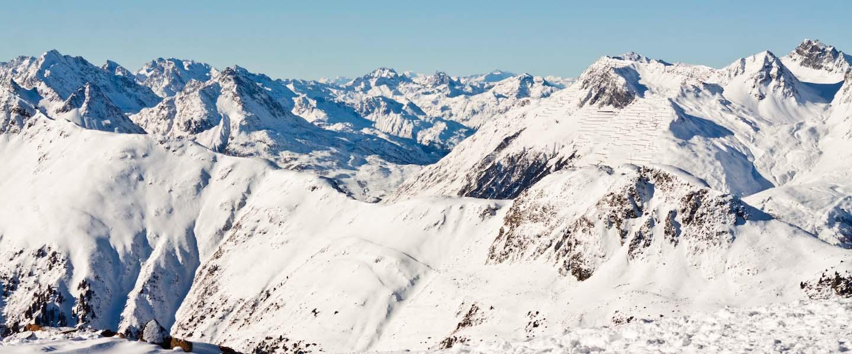 Les Menuires, MTB in de sneeuw
