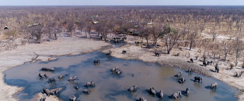 Adembenemende drone-beelden van Afrika's laatste wildernis