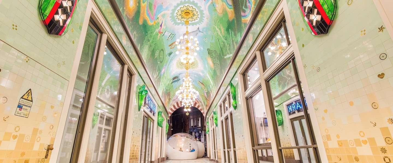 Nieuwe Beurspassage in Amsterdam is voor één nacht een hotel