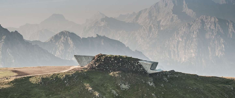 Deze vier architectonische parels in de bergen van Zuid-Tirol wil je zien!