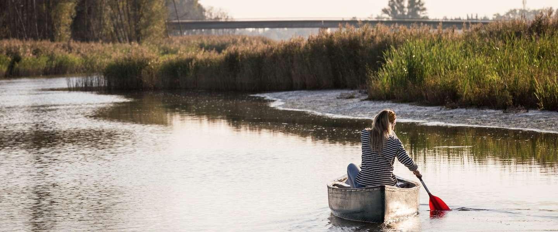 Kamperen, varen en vooral genieten in de Brabantse Biesbosch
